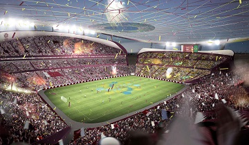 Angle Steel For 2022 FIFA World Cup Soccer Stadium Qatar