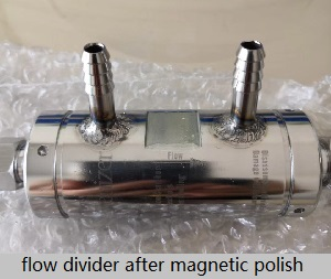 Magnetic Polisher To Improve Surface Quality Of Each Single Product