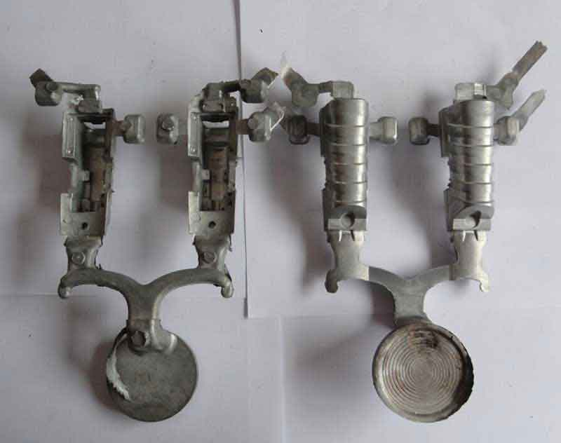 Die Casted Supporting Bases